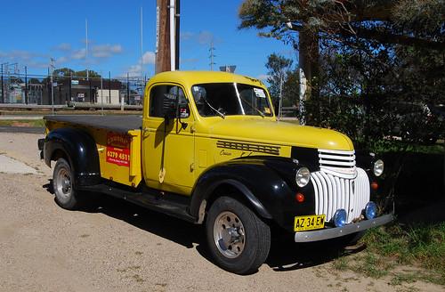 Chevolet Truck, Kandos, NSW.