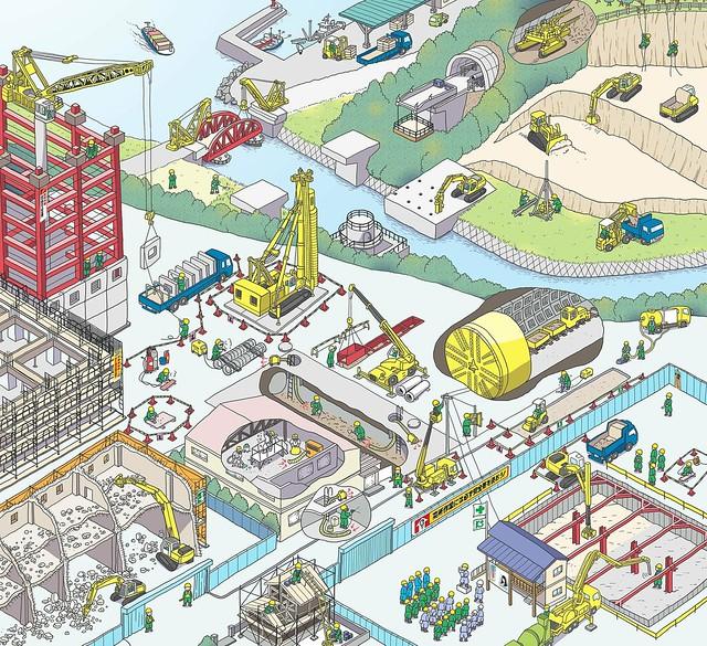 建設業労働災害防止協会「持っていますか?建設現場の資格 ポスターカレンダー2019」(2019)