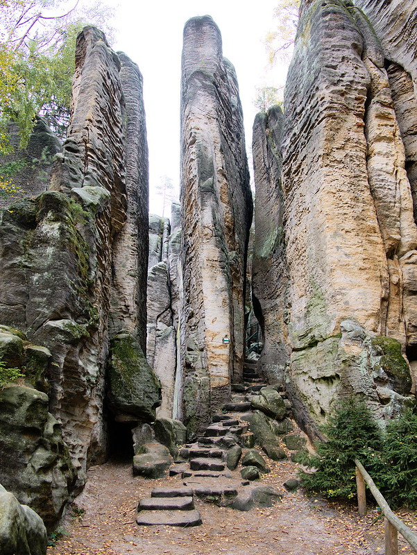 czeski raj prachowskie skały