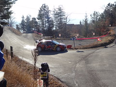 Ogier at Basse Correo Stage on Monte-Carlo Rally (3) - Photo of Lettret