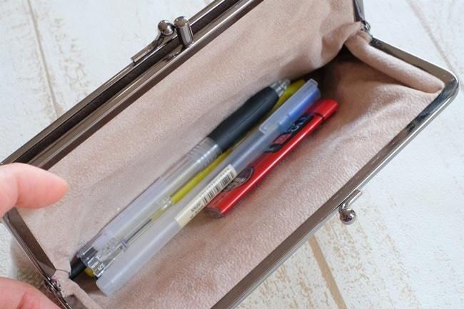 メリントレグウィントのかわいいがま口筆箱として使う