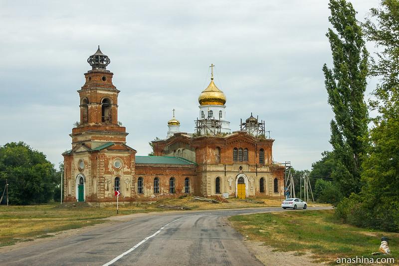 Церковь Троицы Живоначальной в Пыховке, Воронежская область