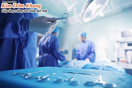 Phẫu thuật cắt túi mật thường chỉ áp dụng khi sỏi mật gây biến chứng