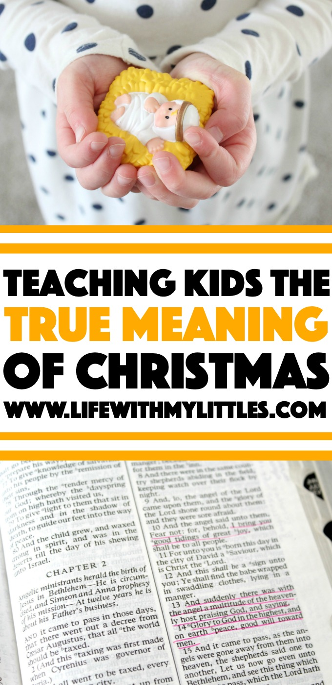 Worried about the true meaning of Christmas getting lost on your kids? Here are 12 ideas to put Christ back in Christmas and teach your kids what Christmas is really all about.