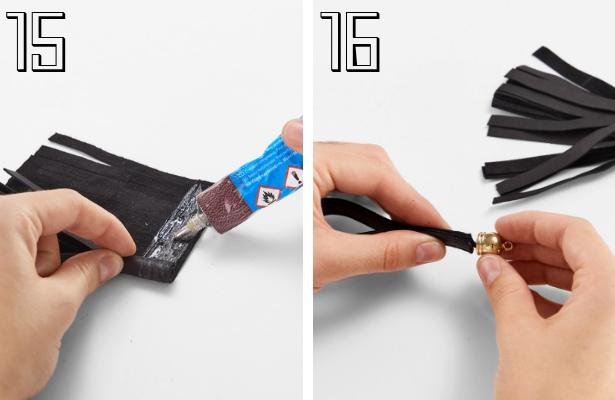 DIY Fashion Clutch Steps 15 16