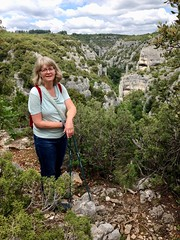 Kerstin, Gorges d'Oppedette (II) - Photo of Rustrel