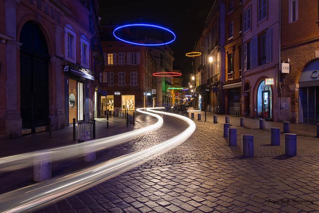 Cheminement nocturne, Nikon D850, AF-S Nikkor 16-35mm f/4G ED VR
