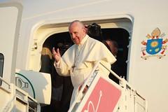 Despedida del Papa Francisco en el Aeropuerto
