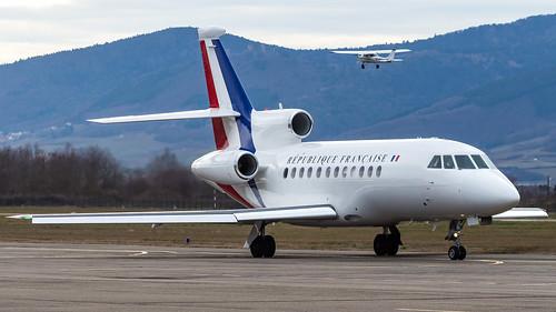 Dassault Falcon 900 F-RAFQ Armée de l'Air