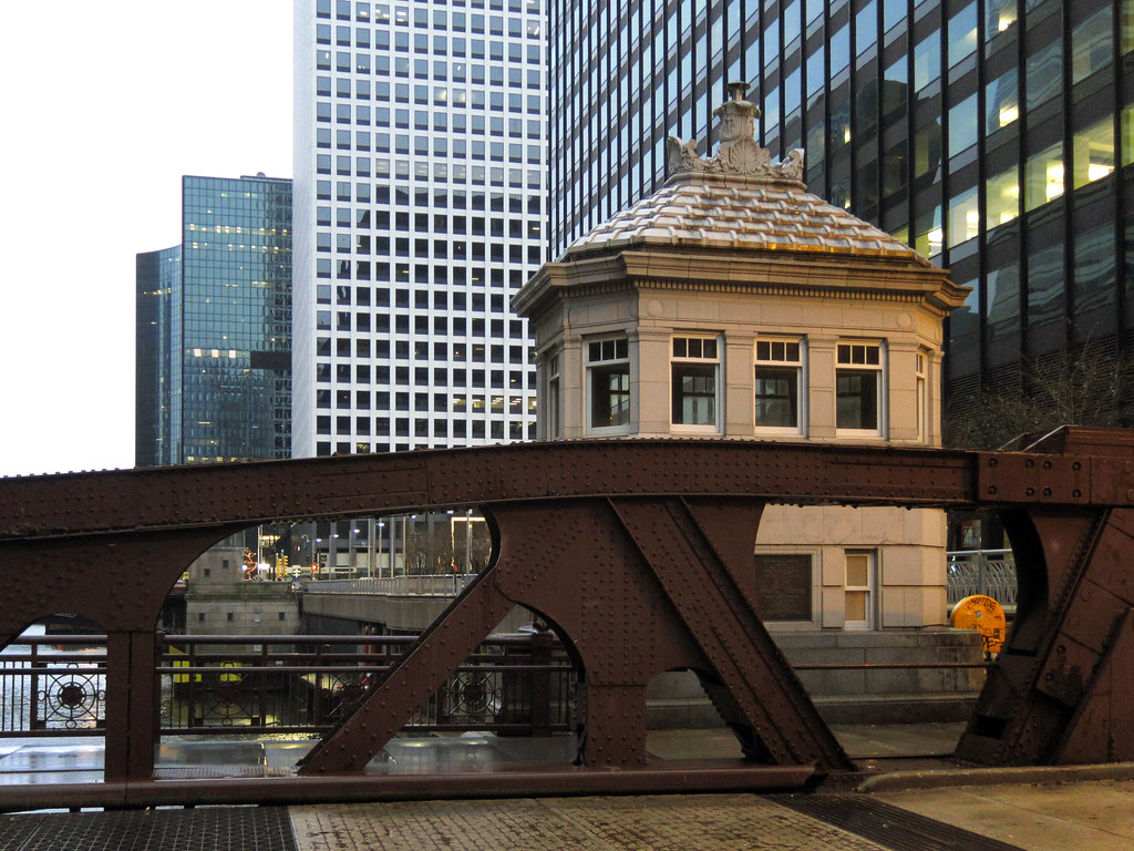 Bridge over the Chicago River