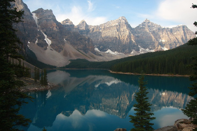 Moraine Lake, Banff National, Canon EOS 40D, Canon EF-S 10-22mm f/3.5-4.5 USM