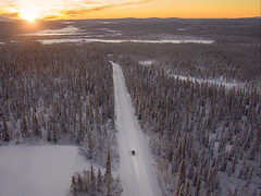 Polar road trip
