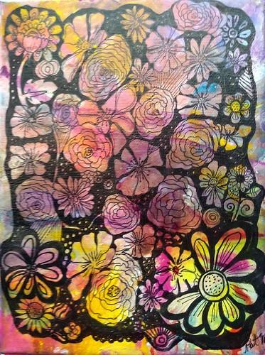 mandala flores 19