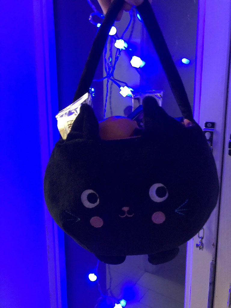 Cute Halloween cat bag