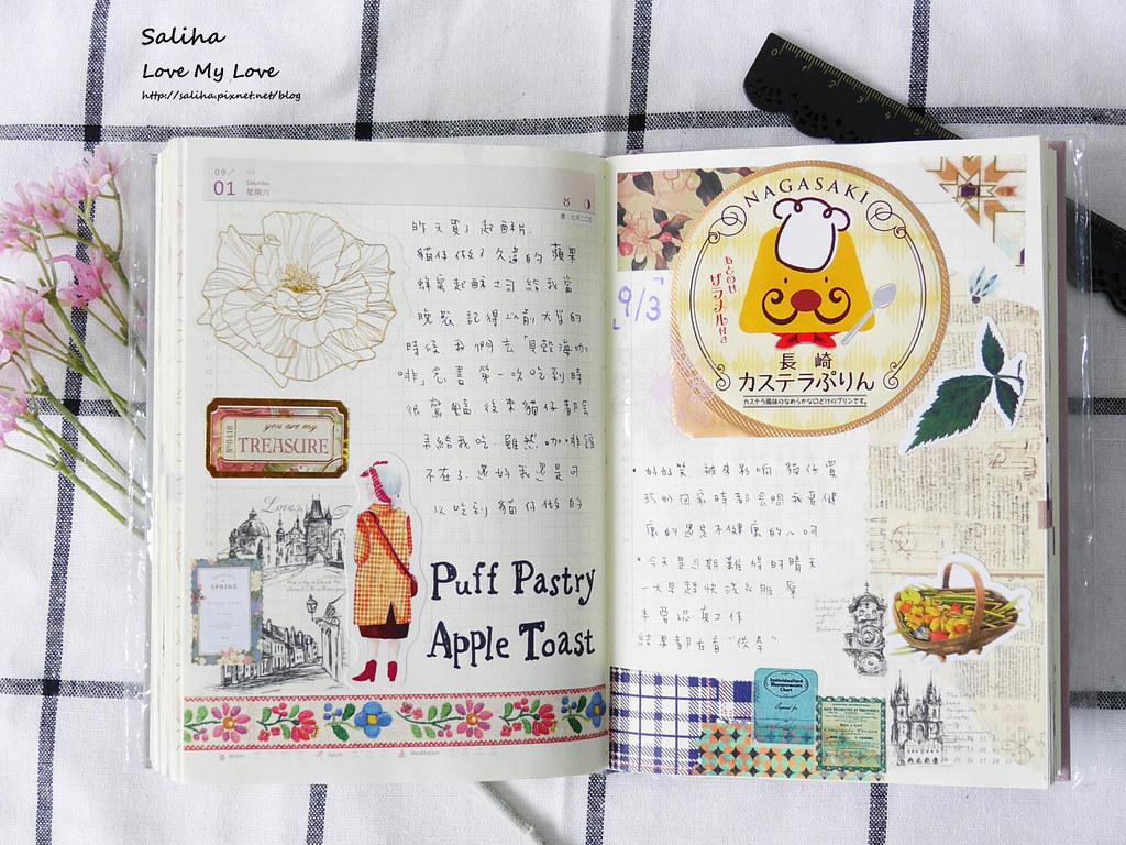 手帳日記裝飾分享紙膠帶設計水彩遊記 (13)