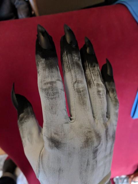 Making the Dagoth Ur Gloves