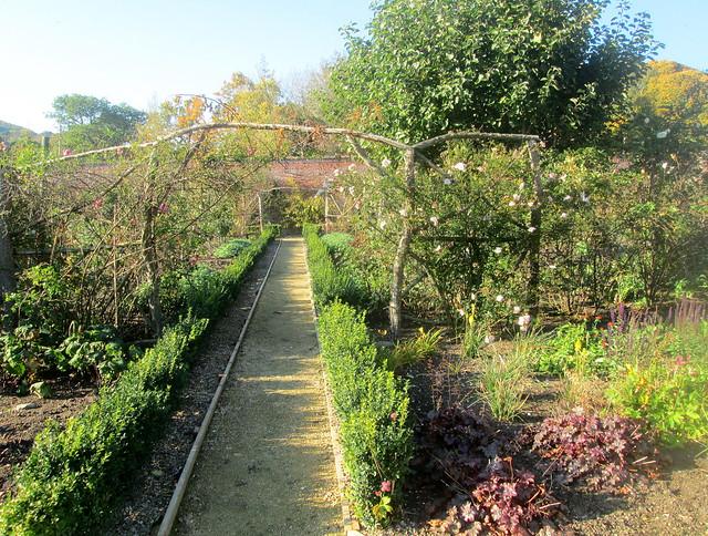 Abbotsford Walled Garden, Sir Walter Scott, 1