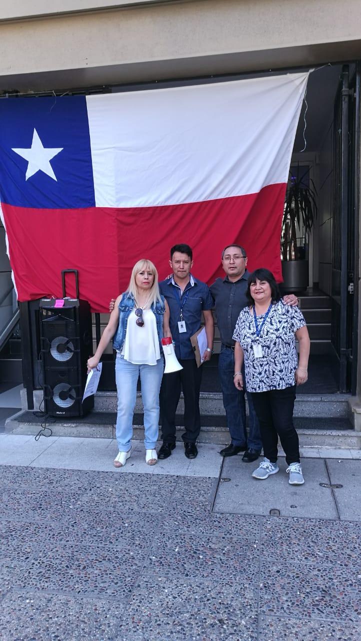 ANFINE en Paro Nacional CUT/ANEF por un reajuste digno - 26 Noviembre 2018
