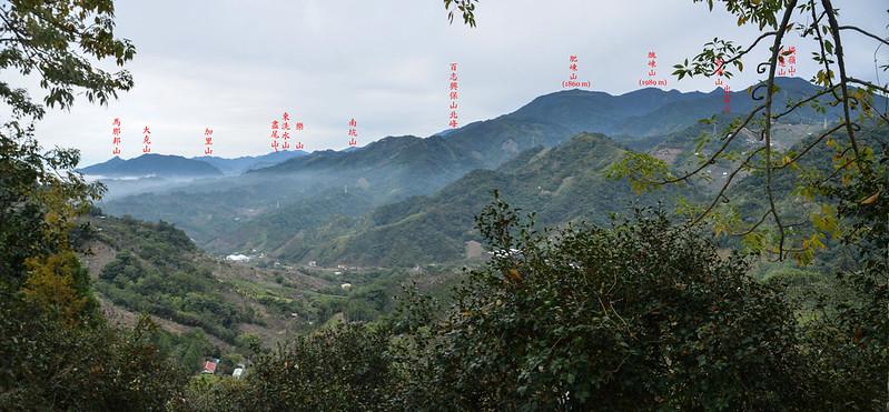 麻竹坑山山頂東北展望 2 (2)