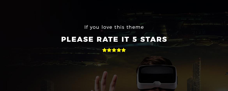 rate this theme 5 stars - Bos Atari Gaming Prestashop theme