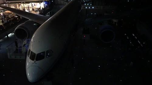 FLIGHT OF DREAMS プロジェクションマッピング 4階展望デッキから 9B9943AF-2612-40BC-818B-87A0DA94CCE2