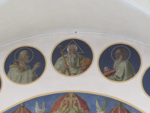 20170929 02 509 ostbay Rattenberg Kirche Apostel Medaillions Bilder Gott Vater