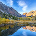 Beaver Pond in Lundy Canyon in the Eastern Sierra by Jim Frazee