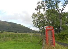 Red Telephone Box, Inverlael, Wester Ross, Aug 2018