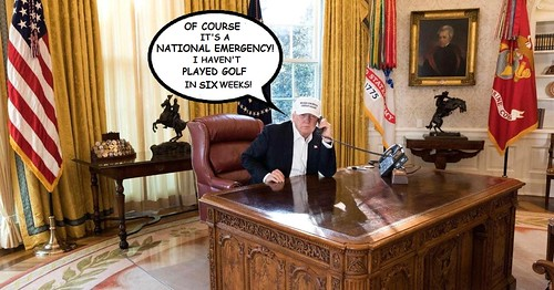 Trump Prepares National Emergency Declaration