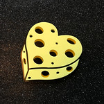 Cheese Brooch