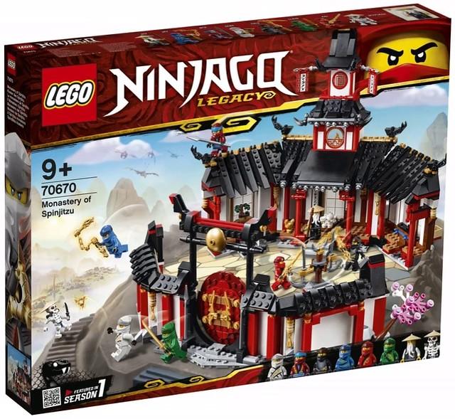LEGO Ninjago Legacy 2019 70670 01