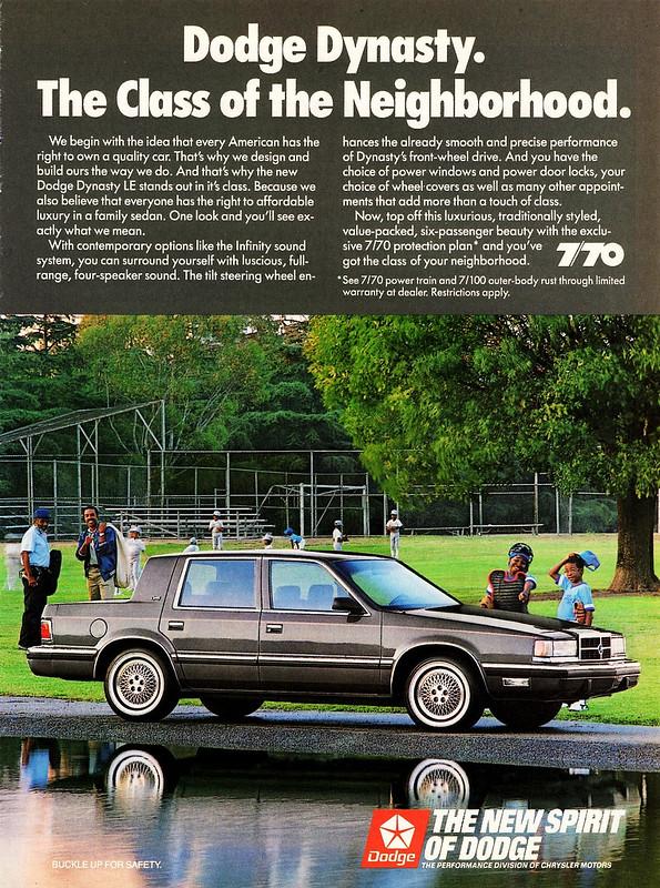 1989 Dodge Dynasty LE