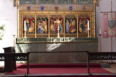 high altar and reredos (Benedict Williamson, 1930)