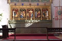 high altar and reredos (Benedict Williamson, 1930)