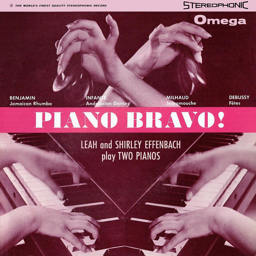 Leah and Shirley Effenbach - Piano Bravo