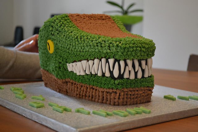 Dino Cake from Ricette dolci by Sonia