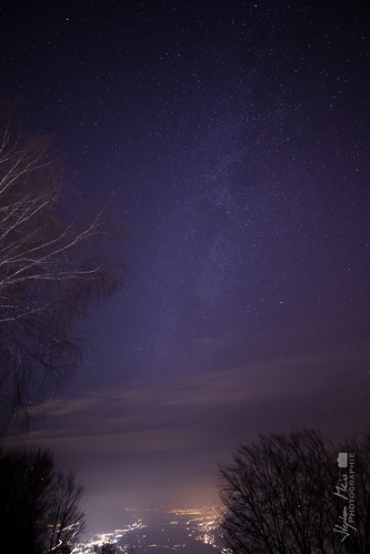 Milkyway over Locarno