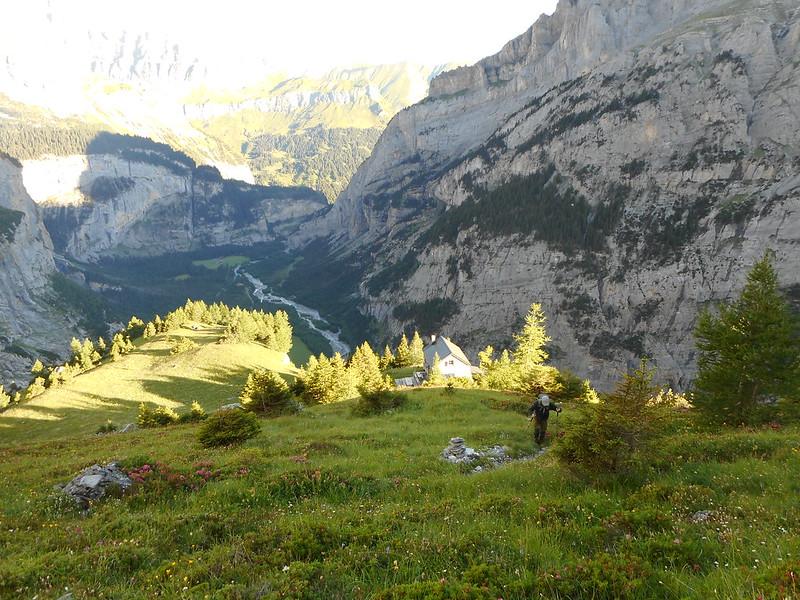 Monte Rosa, Hoog alpiene tocht