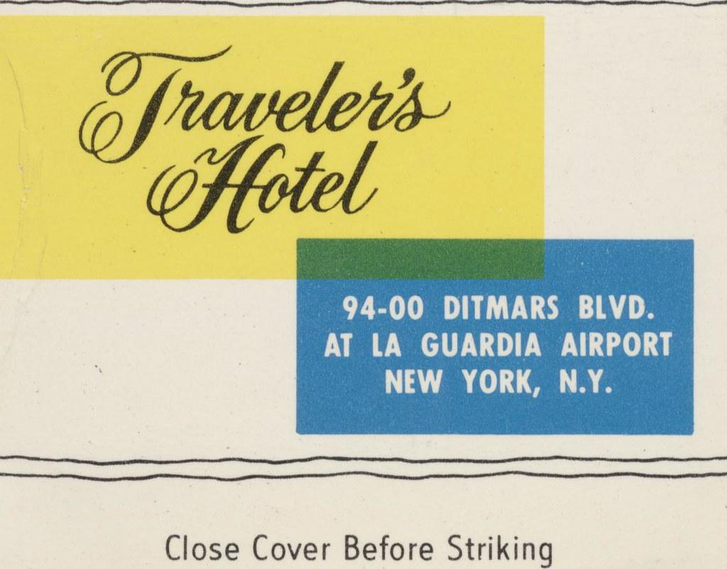 Traveler's Hotel-Motel - New York, New York