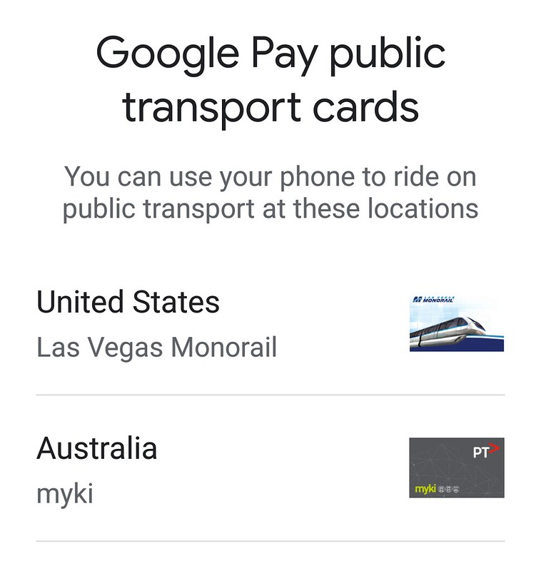 Mobile Myki: creating a card