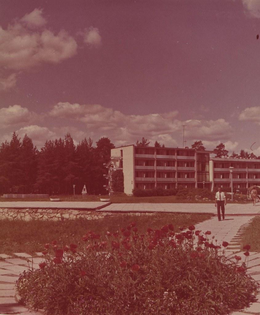 Ленинградская область. Пансионат отдыха «Зеленый бор». Главный корпус