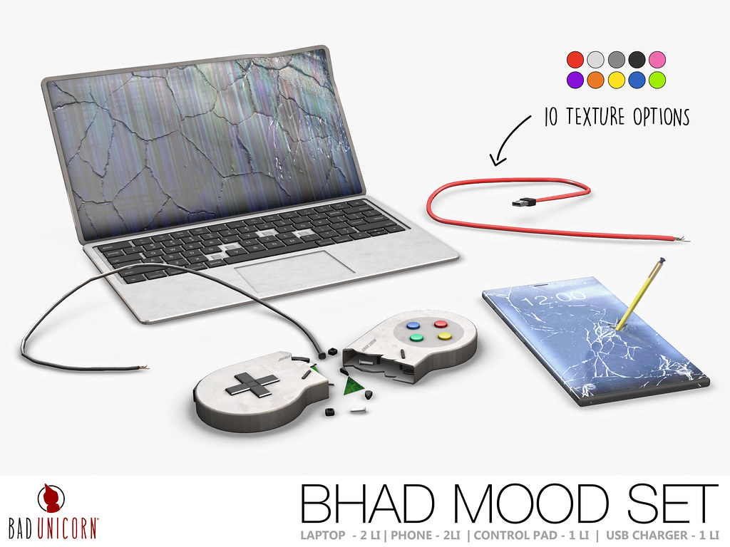 Bad Unicorn - Bhad Mood Set - TeleportHub.com Live!