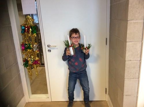 3e Leerjaar - Kerststukjes Maken