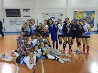 La Maxima Volley festeggia la straordinaria prestazione contro il Santeramo