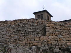 20080901 29000 1002 Jakobus Montarcher Kirche Turm Stein Mauer Treppe - Photo of Saint-Jean-Soleymieux