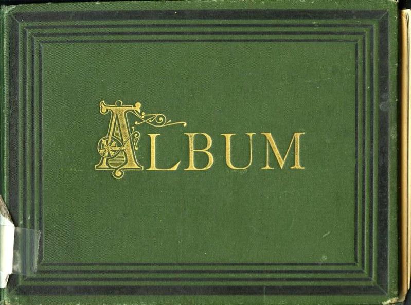 Portada del Álbum con fotografías de Toledo hacia 1890. Fototeca del Museo del Ejército, signatura MUE 120476