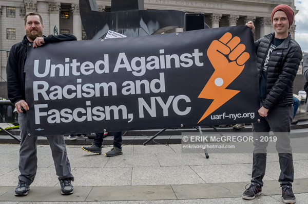 NYC March Against Racism and Fascism