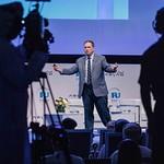 Jim Carroll during Plenary session 2 at IRU World Congress in Muscat, Oman