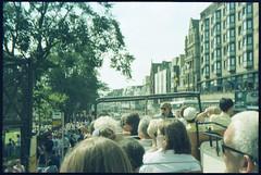 Found Film - On the tour bus - Princes Street, Edinburgh