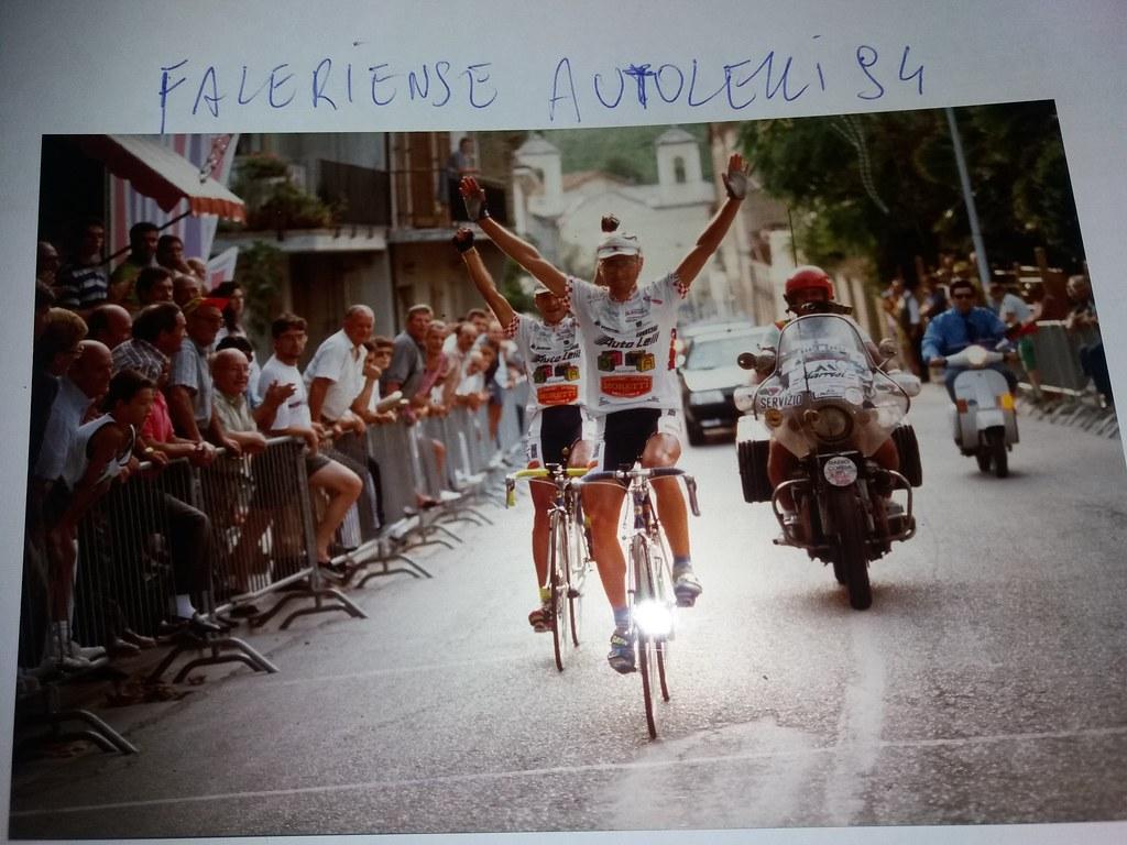 Vittoria a Spinetoli Ascoli Piceno 10 settembre 1994, secondo Spinozzi Adriano